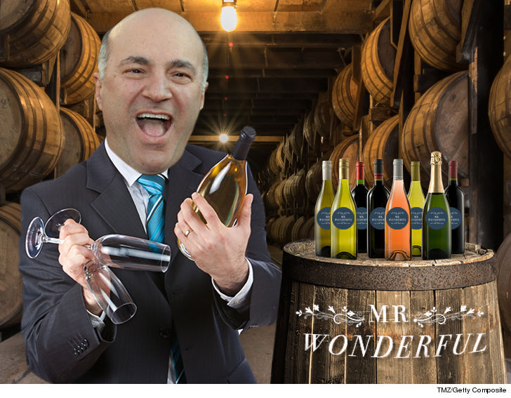 "Kevin O'Leary wants to sell you ""Mr. Wonderful"" alcohol, and he might have some wonderful drank coming your way soon."