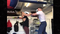 Paige VanZant & Fiance Trade Punches, The Couple That Spars Together ...