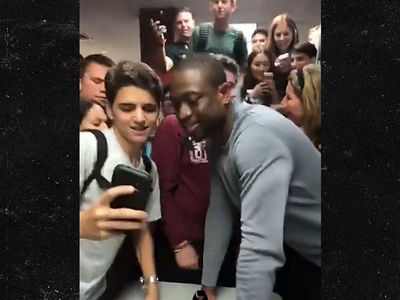Dwyane Wade Visits Stoneman Douglas H.S., 'I'm Inspired By All of You'