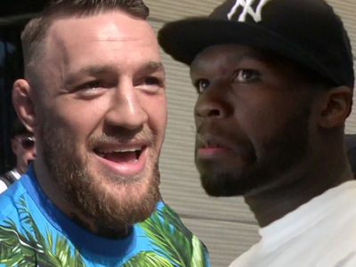 Conor McGregor Claps Back at 50 Cent, You're Old & Have Man Boobs!