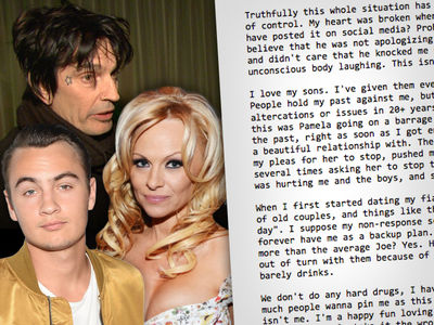 Tommy Lee Says Booze is Not a Problem, Pamela's Lying and Brandon Needs to Learn a Lesson