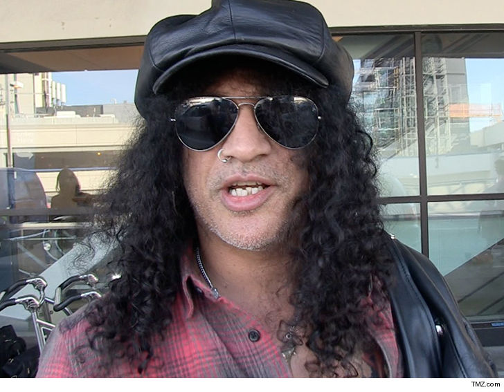 Slash Wins Restraining Order Against Scary Man at Super Bowl Party