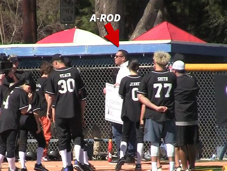 030918 arod primary v3 1200x630 - Alex Rodriguez Coaches Kardashian Softball Game, 'I'm Terrible At It!'