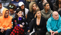 Kardashians Sit Courtside And Cheer On Scotty Pippen Jr.