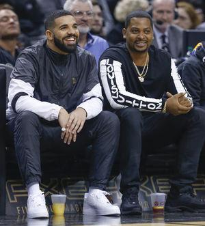 Drake Night at Raptors Basketball Game