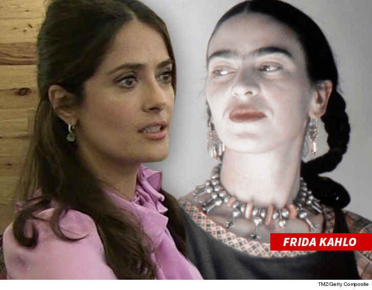 Salma Hayek Slams Mattel's Frida Kahlo Barbie Doll