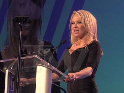 Pamela Anderson Says Riders and Drivers Get Screwed by Ride-hail Apps