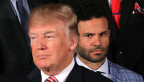 Jose Altuve Wasn't Mean Mugging Trump, 'I Was Just Listening'