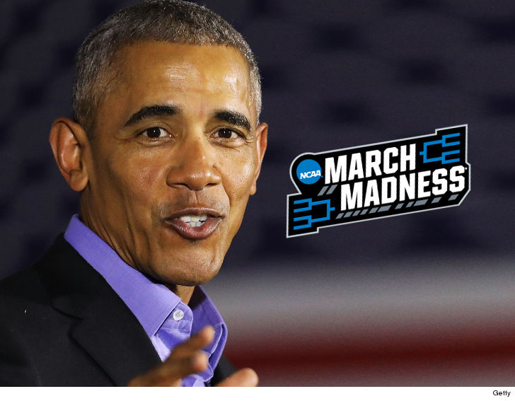 Barack Obama Released His Full Bracket Picks For The NCAA Tournaments