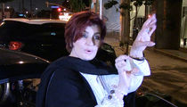 Sharon Osbourne Makes Busty Suggestion for Trump's Border Wall
