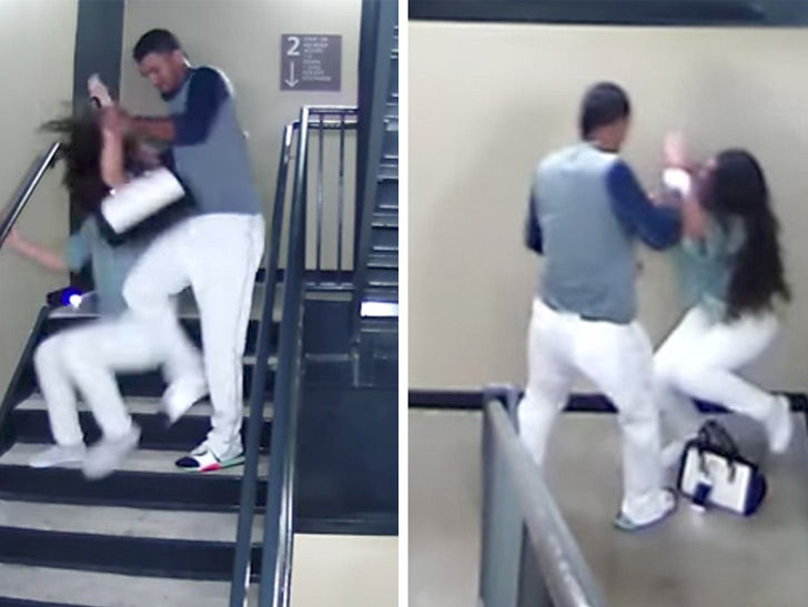 Baseball Player Danry Vasquez Caught Beating Girlfriend On Stadium Surveillance