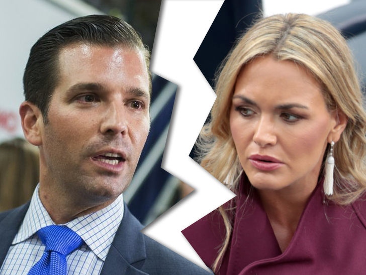 Donald Trump Jr.'s Wife Files for Divorce, 'Long Time Coming'
