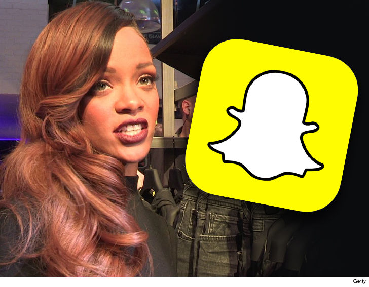 Rihanna slams Snapchat for domestic abuse 'joke'