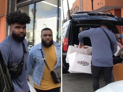 Ezekiel Elliott Drops Gs in Offseason Sneaker Shopping Spree