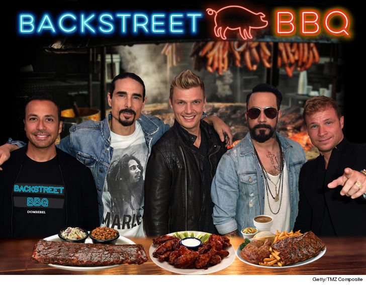 Backstreet Boys Want to Open 'Backstreet Barbecue ...
