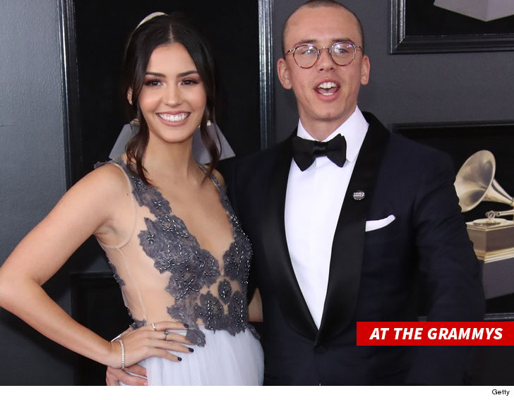Logic and Wife Jessica Andrea Are Splitting
