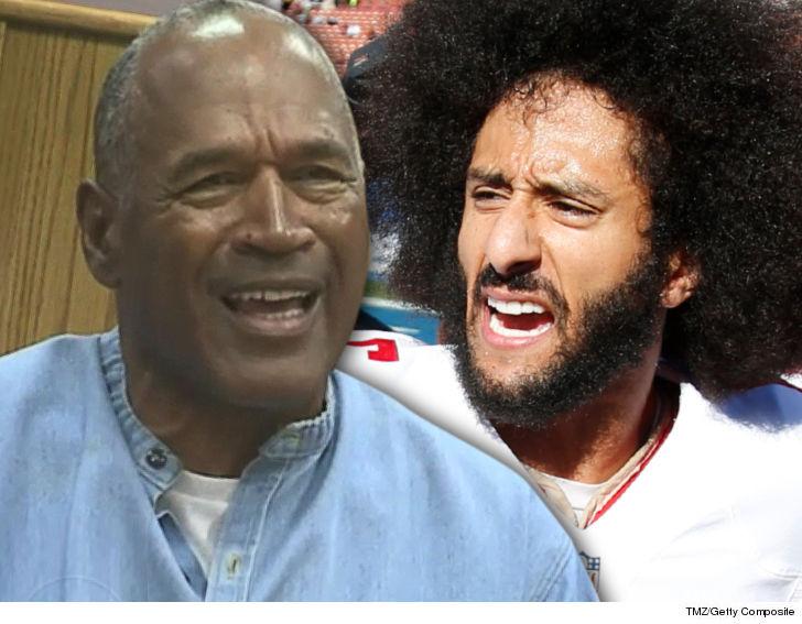O.J. Simpson says Colin Kaepernick made a bad choice in