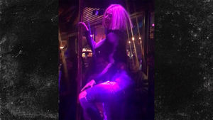 WWE Superstar Lana Pole Dances at Gay Bar