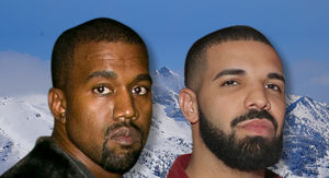Kanye and Drake's Wyoming Meetup Looks Like Huge Operation for New Album