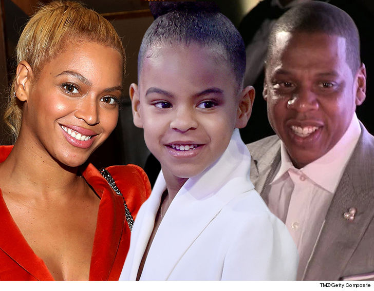Jay Z Can't Stop Blue Ivy From Bidding at Auction