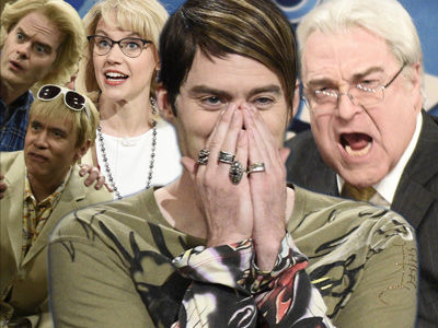 Stefon, John Goodman & 'Betsy DeVos' Swing By 'SNL' -- See Bill Hader Break Character!