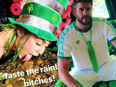 See How Hollywood Celebrated St. Patrick's Day In Their Wild Holiday Selfies!