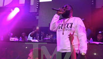 Rick Ross Says 'Free Meek Mill' in 1st Performance Since Hospitalization