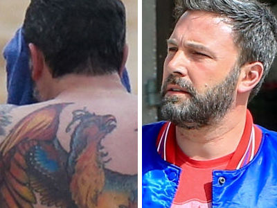 Internet TRASHES Affleck's Massive Tattoo He Previously Said Was Fake -- See Savage Reactions!