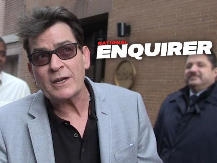 Charlie Sheen Settles National Enquirer Lawsuit Over Haim Rape Story.