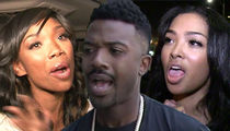 Brandy Skipped Ray J's Baby Shower After Fight with Princess Love