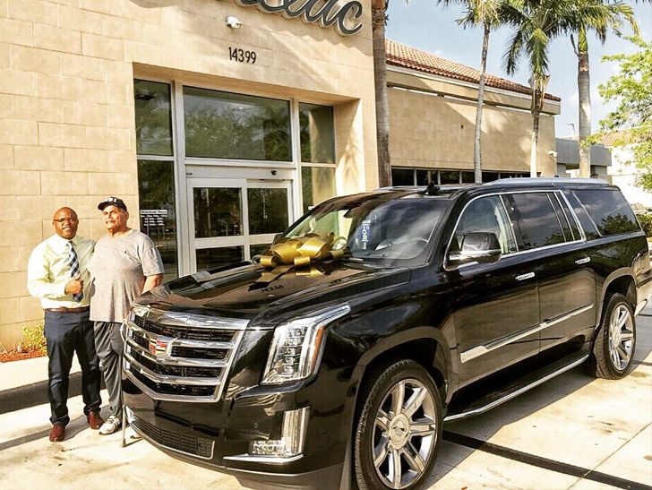 Dwayne 'The Rock' Johnson Buys 'Hip' Dad New Cadillac Escalade