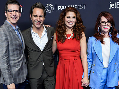 'Will & Grace' Stars Reveal Which Celebrity Guest Had the Biggest Entourage Back In the Day