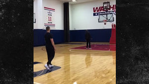 Justin Timberlake Makes it Rain from Halfcourt at Wizards' Practice Facility