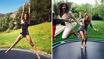 Celebs On Trampolines ... See Who's Springin' Into The New Season!