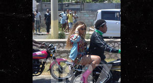 Beyonce and Jay-Z Take Motorcycle Ride Through Jamaican Streets
