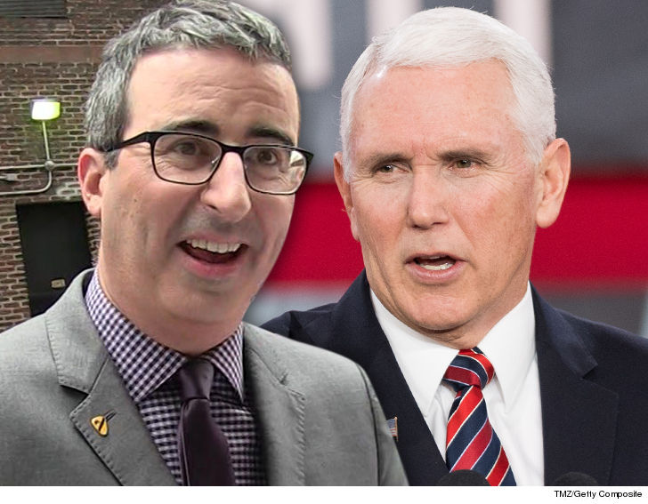 John Oliver Creates Mike Pence Book Parody to Benefit LGBT Orgs