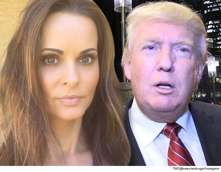 Ex-Playmate sues to talk about alleged Trump affair