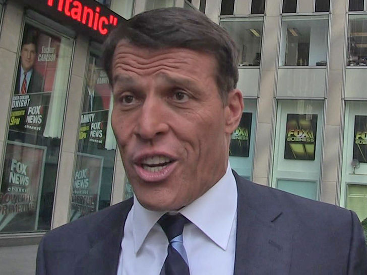 Tony Robbins' Company Sued for About $23k in Unpaid Jet Fuel