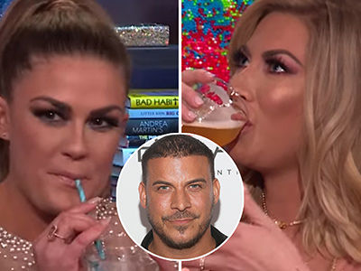 'Vanderpump Rules' Stars Stassi and Brittany Play 'Never Has Jax Ever' -- See Who Ends Up Drunk!