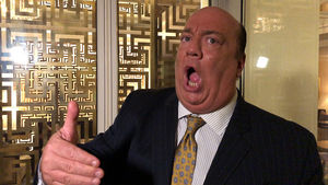 WWE Legend Paul Heyman Says Brock Lesnar Will Kick Francis Ngannou's Ass, Just Like Roman Reigns