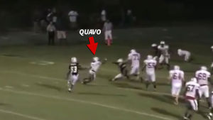 Quavo Releases High School Football Highlight Reel, And He's Ballin' Like Mike Vick!