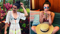 Lea Michele's Vacay In Hawaii ... Say Aloha To Other Famous Tropical Travelers!