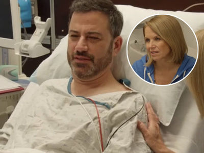 Couric Takes Kimmel to Get First Colonoscopy: Here's What Doctors Found Up There!