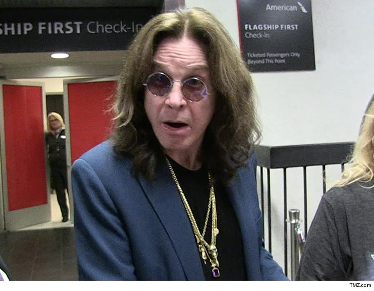 Ozzy Osbourne sues concert promoter AEG over restrictive booking conditions