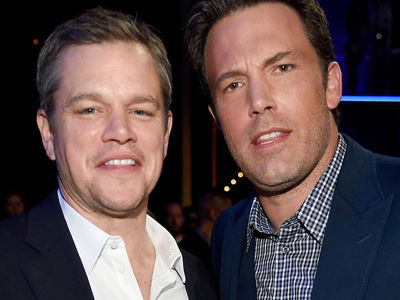 Matt Damon GRILLED About Affleck's Horrible Tattoo -- Here's What HE Thinks About It!