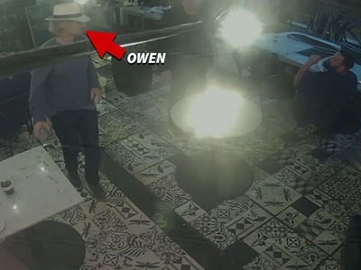 Owen Wilson and Date Dance Away After Setting Off Fire Alarm with Cigarette in Bar