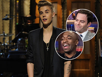 Why Bill Hader & Jay Pharoah Agree Justin Bieber Was the WORST 'SNL' Guest Ever