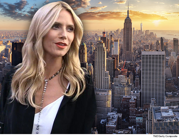 2014 Hot New Stars - Heidi Klum's got a luxurious new space in Manhattan to do anything she  wants with ... because that's the deal -- it demands total renovation.