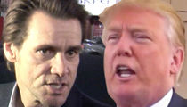 Jim Carrey Shades President Trump with 'Fifty Shades of Decay'