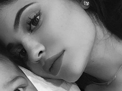 Kylie Jenner Shares Three New Stormi Selfies -- and This Baby Is WAY Too Cute!